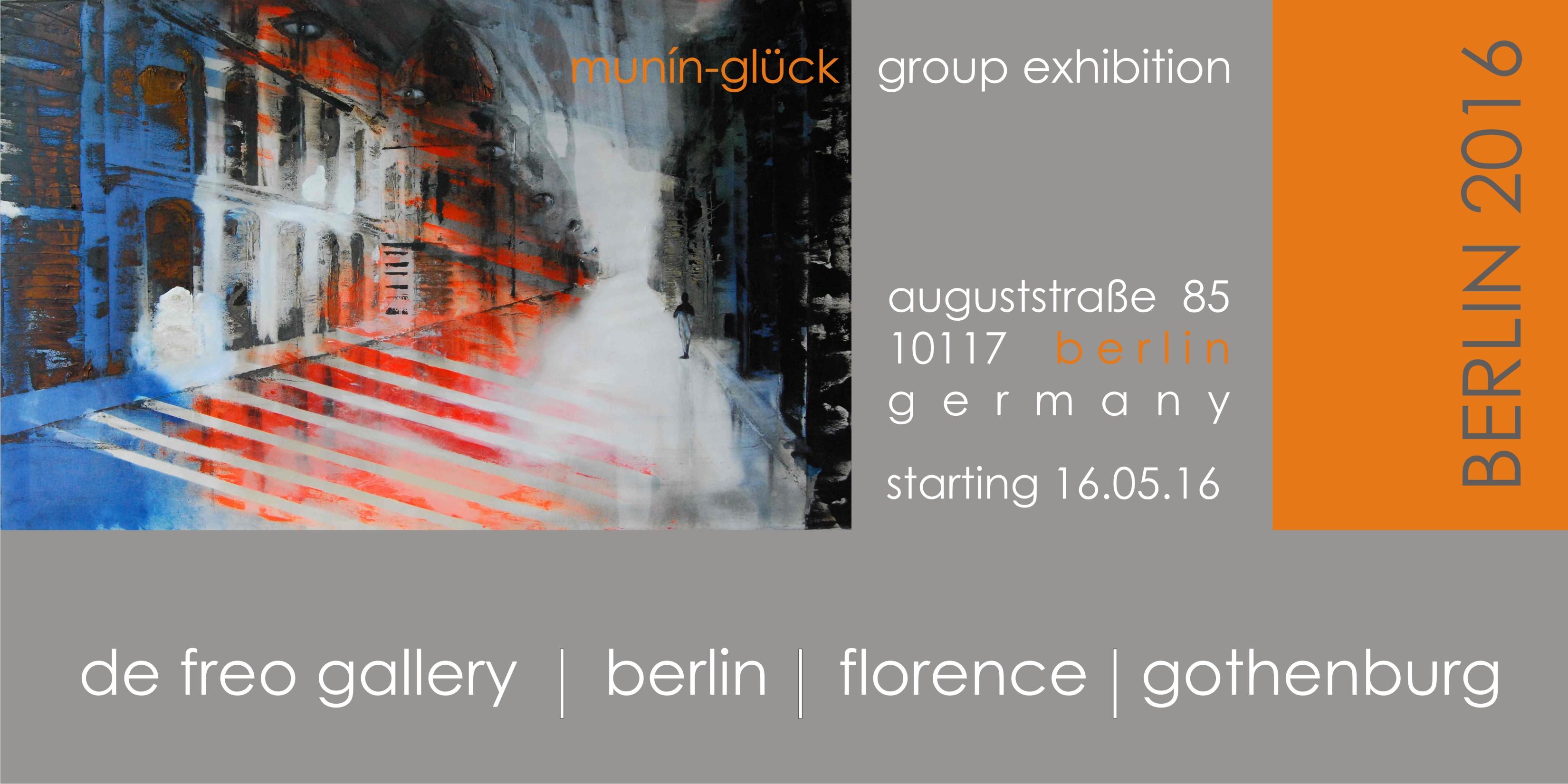 Ausstellung de freo gallery Berlin