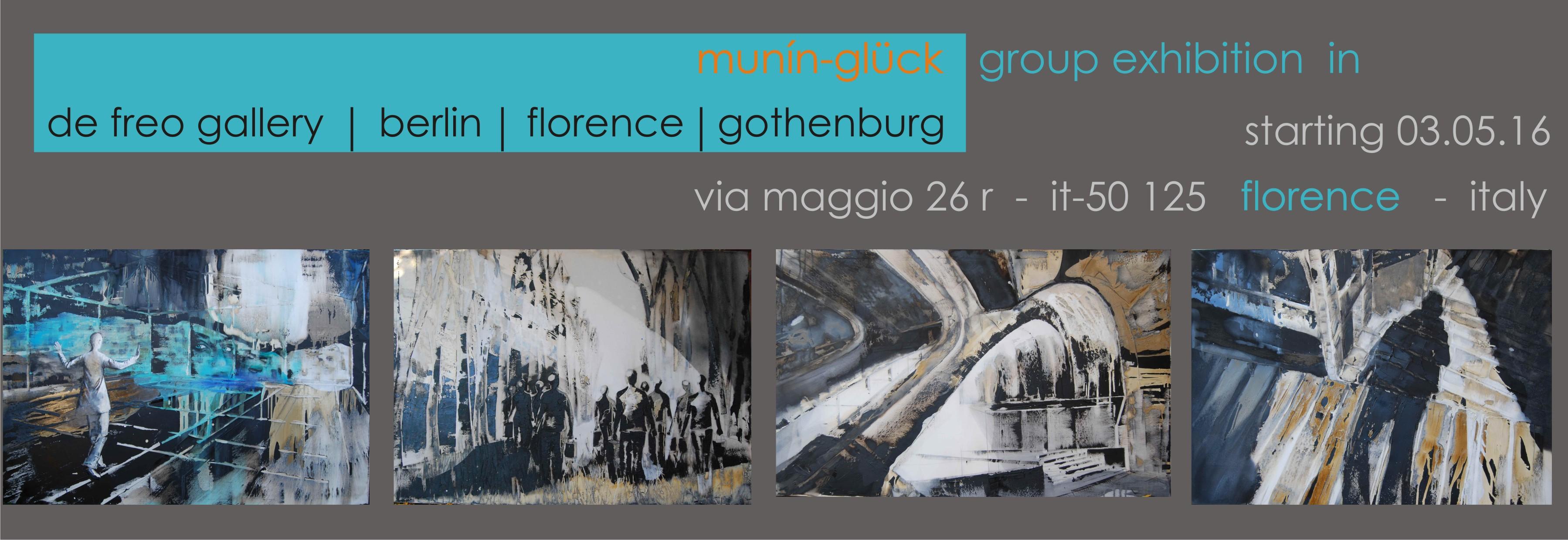 Ausstellung de freo gallery Florenz ab 03.05.2016